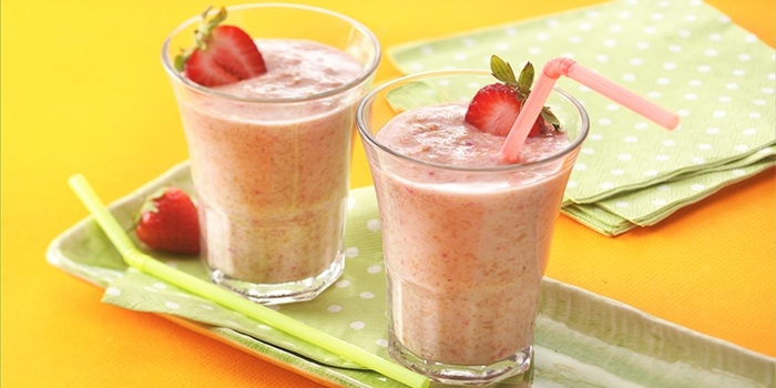 Smoothie de Frutas Vermelhas com Chocolate